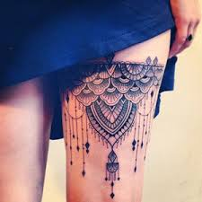 more than 50 thigh tattoos with unique modern touch