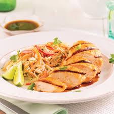 cuisine à la bière poitrines de poulet sauce thaï à la bière recettes cuisine et