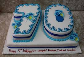 70th birthday cakes birthday cake