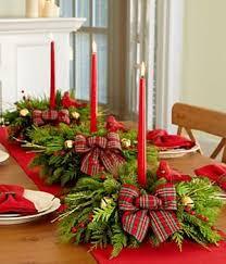 inspiration via christmas table decor lovely reds and plaid