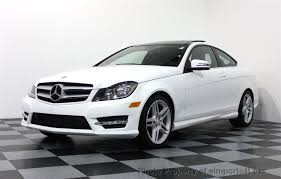 mercedes c class amg 2013 2013 used mercedes certified c250 amg sport coupe navigation