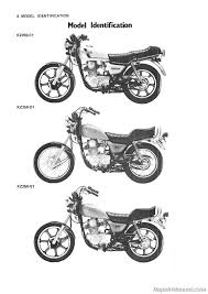 1980 1983 kawasaki kz250 motorcycle repair service manual