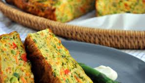 savoury zucchini cake please pass the recipe