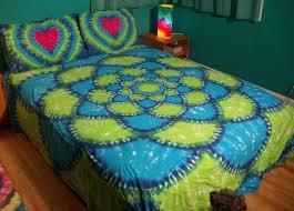 Rainbow Comforter Set Tie Dye Bedding Wisperwood Kingsize Tiedye Sheet Set Free