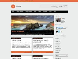 free magazine blogger template 8 free blogger templates worth exploring
