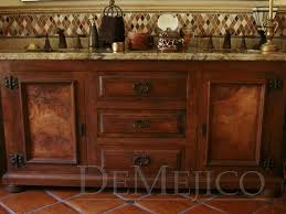 Spanish Style Bathroom by Semi Custom Bathroom Vanity Home Design Ideas And Pictures