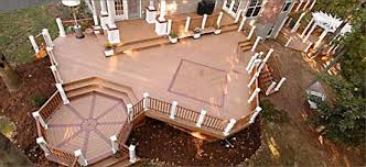 Patio Decks Designs Pictures Custom Designs In Your Decks Can Add A Feeling Of Separate Rooms