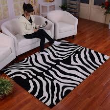 Zebra Area Rugs Best Choice Of Zebra Print Throw Rug 8116 Area Windigoturbines