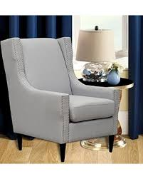 Light Grey Accent Chair Spring Savings On Iconic Home Freud Modern Light Grey Linen Accent