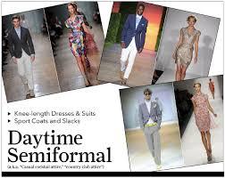 semi formal dress code wedding gracious living guide 23 respecting dress codes vitrine
