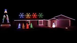 Christmas House Light Show by 2016 Christmas Light Show Display U0027hot Chocolate U0027 Polar Express