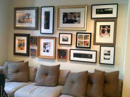 easy living room updates in a weekend displaying frames colourful