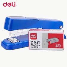 aliexpress buy deli geometric manual standard stapler 24 6