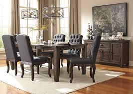 rectangle dining table set w a akins sons trudell golden brown rectangular dining room