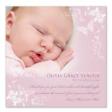baby thank you cards sleeping beauty personalized baby thank you cards girl