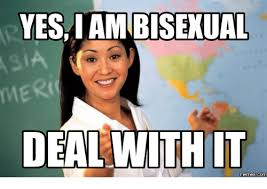Bi Sexual Memes - 25 best memes about bisexual meme bisexual memes