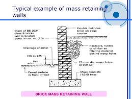 Retaining Walls - Reinforced concrete wall design example