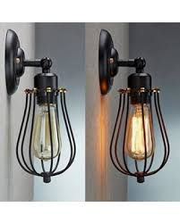 wire cage l shade spectacular deal on led wall light shade cmyk retro vintage wall