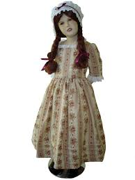 Colonial Halloween Costume Custom Boutique American Felicity Colonial Traveling Gown
