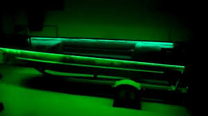 boat led light bar duck boat modification green led lights youtube