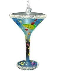 martini ornaments mosaic
