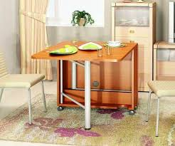 Space Saving Folding Table Design Ideas For Functional Small Rooms - Small table design