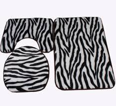alluring 70 brown zebra print bathroom sets design inspiration of