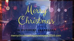 2017 list do you how to say merry in different