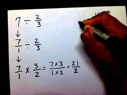 dividing fractions with whole numbers lessons tes teach