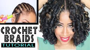 crochet braid hair how to crochet braids w marley hair original no rod technique