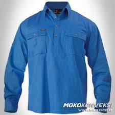 Baju Levis Biru supplier wearpack pakaian safety coverall moko co id