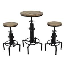 Indoor Bistro Table And 2 Chairs Bistro Table And Chairs Indoor At Contemporary Furniture Warehouse