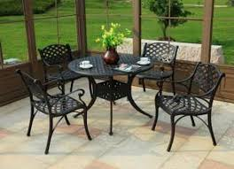 Round Patio Table Cover With Zipper by Patio Furniture Patio Table And Chairsc2a0 0137547 Pe296033 S5