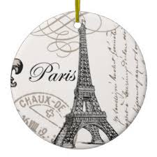 eiffel tower ornaments keepsake ornaments zazzle