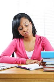 Student At Desk by Ap Exam Preparation A Guide