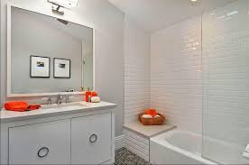 subway tile in bathroom ideas modern subway tile bathroom ideas roswell kitchen bath