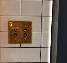 old push button light switches steal this look made kitchen in new york light switches loft