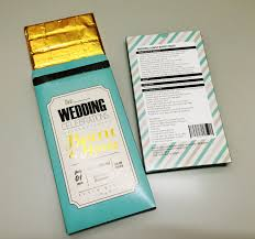 Wedding Invitation Card Diy My Chocolate Wedding Invitation Card Chocolate Invite