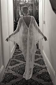 exclusive embroidered lace bridal robe nightgown wedding