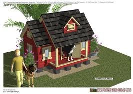 Home Design Articles Home Garden Plans Dh301 Insulated Dog House Plans Dog House