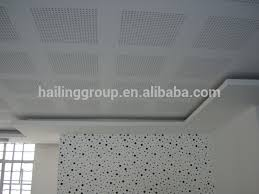 Suspended Drywall Ceiling by Perforated Gypsum Board Perforated Gypsum Board Suppliers And