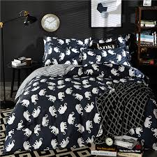 Notre Dame Bedding Sets Home Textiles Elephant Family Model 100 Cotton Bedding Sets 4pcs
