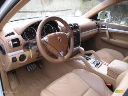 2008 Porsche Cayenne Gts - havanna sand beige interior 2008 porsche cayenne gts photo