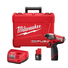 milwaukee m12 fuel 12 volt cordless brushless lithium ion 1 4 in