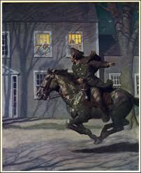 what was the name of paul revere u0027s horse british american