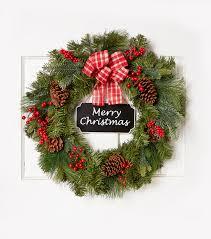 blooming holiday 24 u0027 u0027 merry christmas chalkboard sign wreath joann