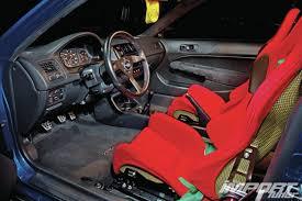 si e auto sparco 1999 honda civic si em1 import tuner magazine