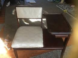 Antique Telephone Bench Telephone Table Ebay