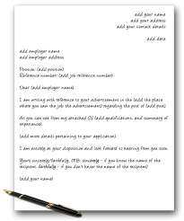 cover letter format letters and sample on intended for 21