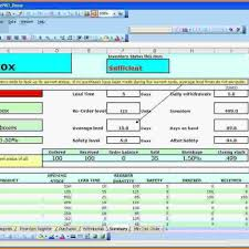 excel inventory template free blank profit and loss statement